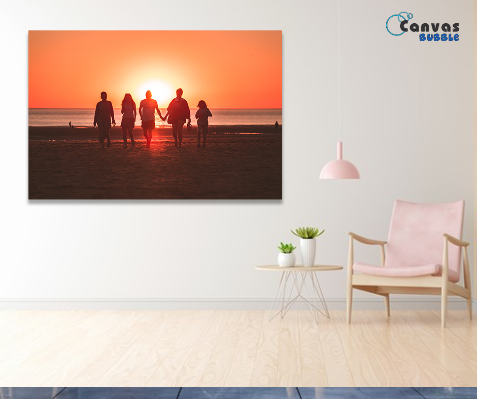 Advantages you get from canvas prints